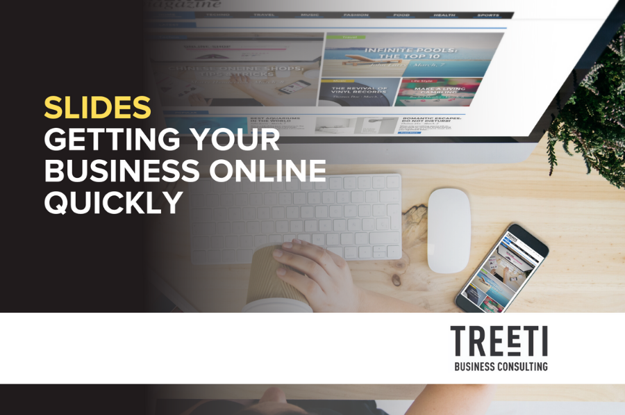Tools for getting your business online quickly