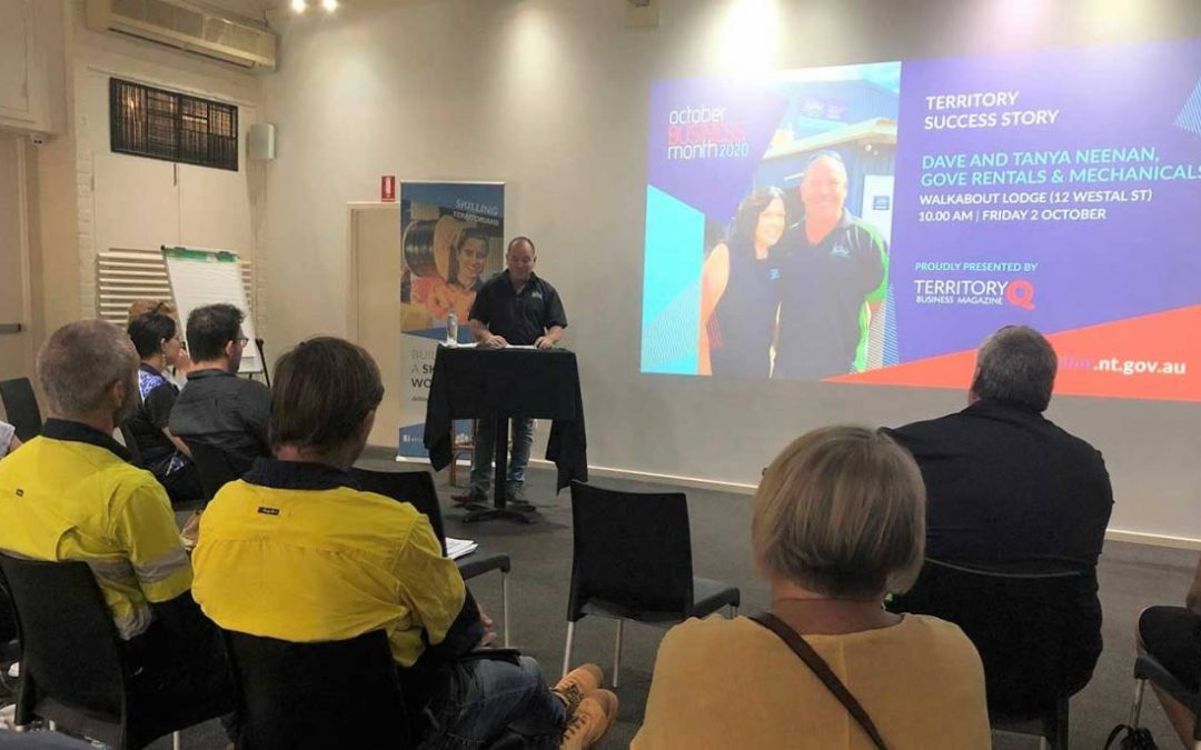Nhulunbuy event leads with key messages for local business